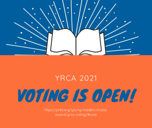 Young Reader's Choice Award 2021 voting is open